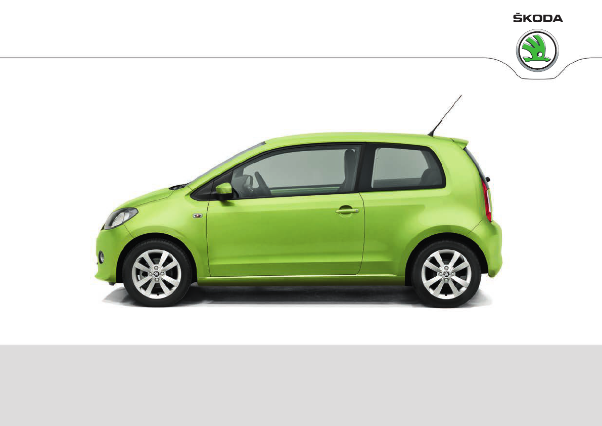Volkswagen Up! Owners Manual Skoda Citigo PDF