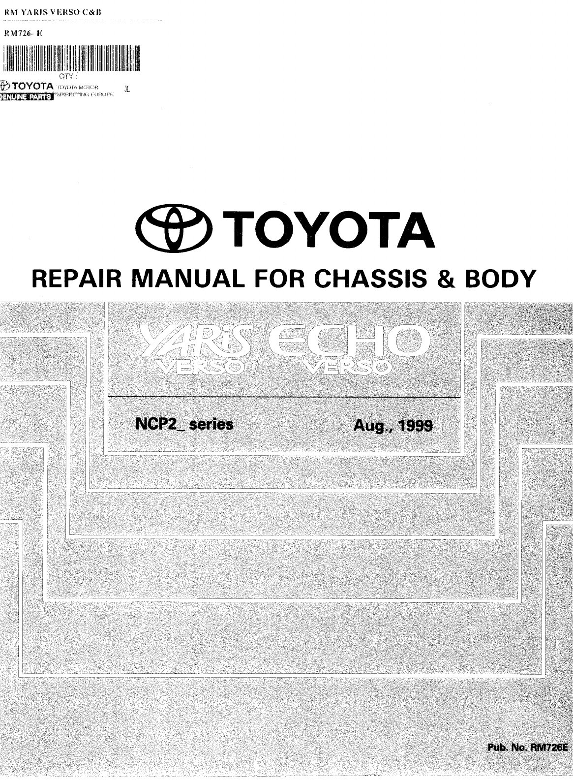 Toyota Aygo Workshop Manual Pdf