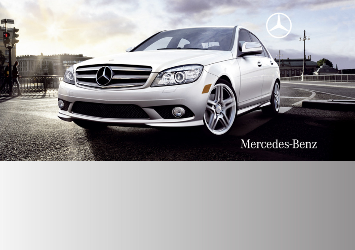 2009 mercedes benz c class owners manual pdf rh manuals co 2009 Mercedes-Benz C300 Sport 2009 mercedes benz c300 4matic owners manual