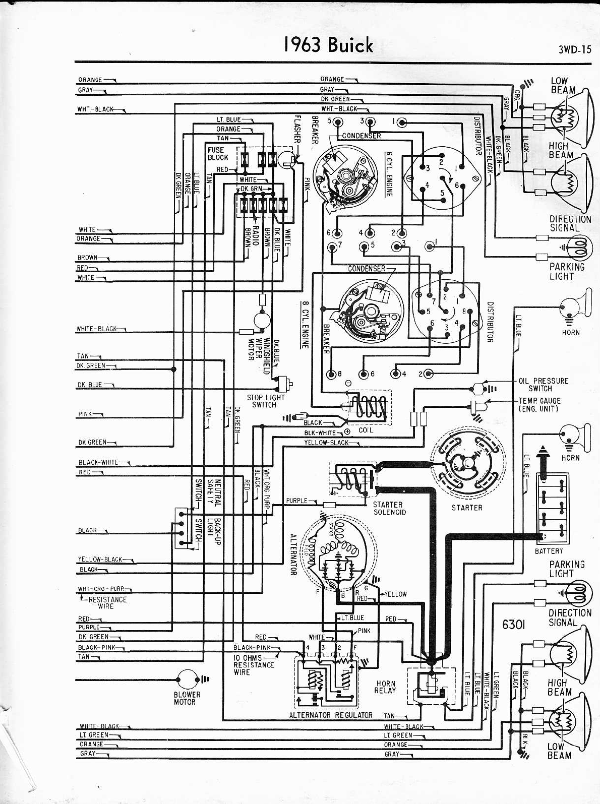 buick skylark 1963 1965 misc documents wiring diagrams pdf rh manuals co  Chrysler Alternator Wiring Diagram