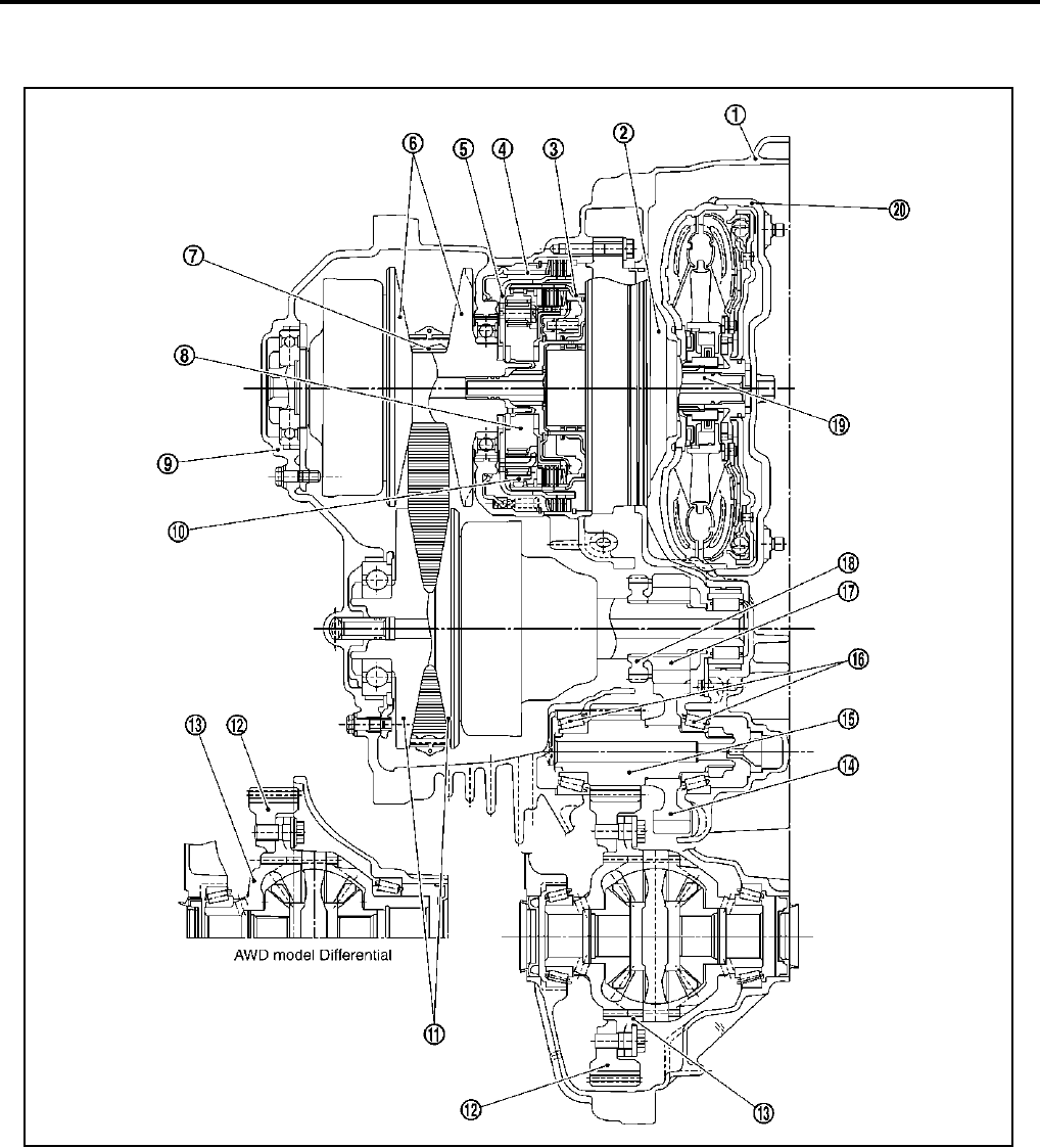 nissan cvt diagram