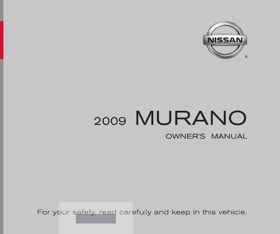 2009 nissan murano owners manual pdf rh manuals co nissan murano owners manual 2005 nissan murano owners manual 2015