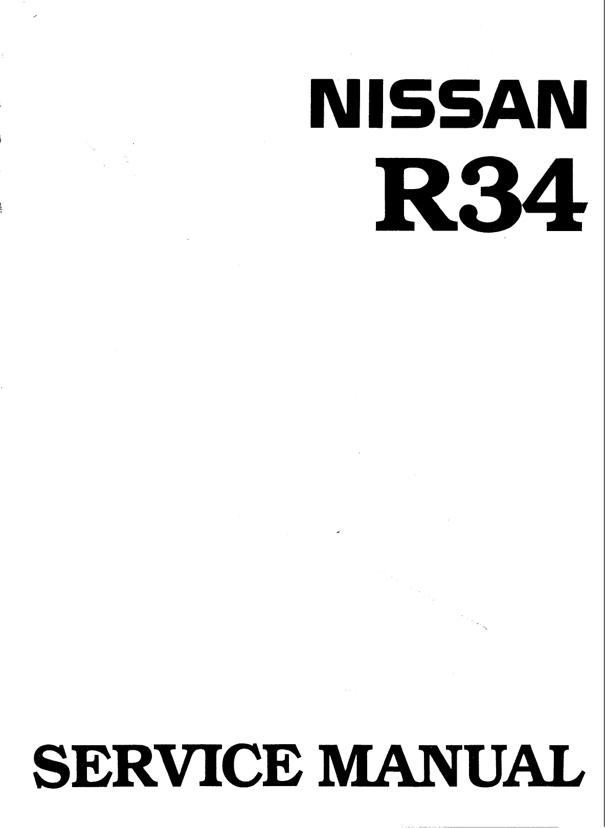 See our other Nissan Skyline Manuals: Nissan Skyline Workshop Manual R32