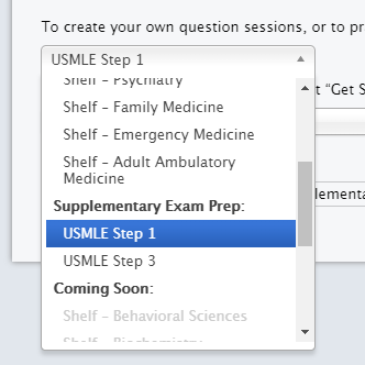 Study for the USMLE Step 1