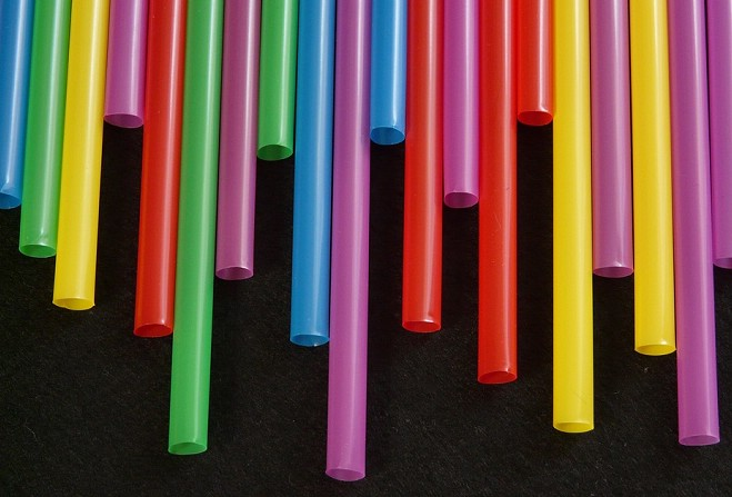 'Get rid of superfluous plastic straws'