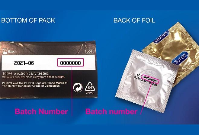 Condom date durex manufacture