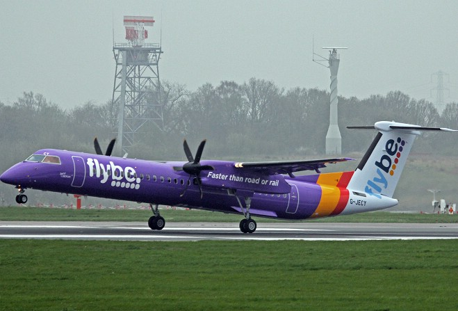 Flybe up for sale weeks after profit warning