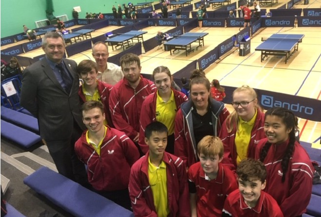 Table tennis tournament 'boost' for reputation - Manx Radio