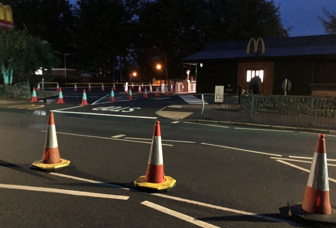 When are McDonald's reopening in Stevenage and North Herts