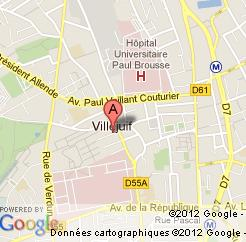 Carte de Villejuif