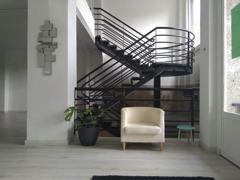 escalera centro