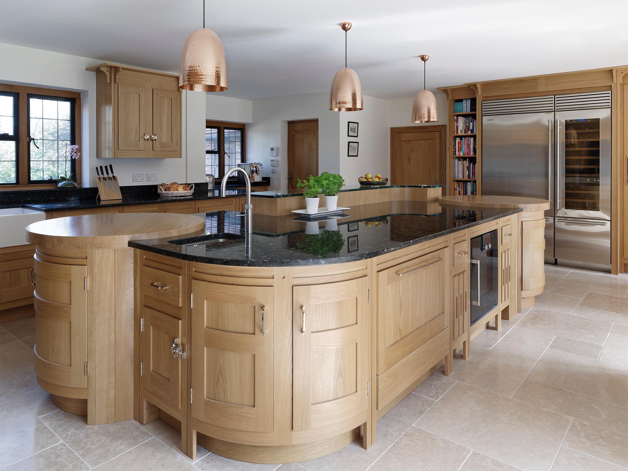 Mark Wilkinson Arts And Craft Kitchen