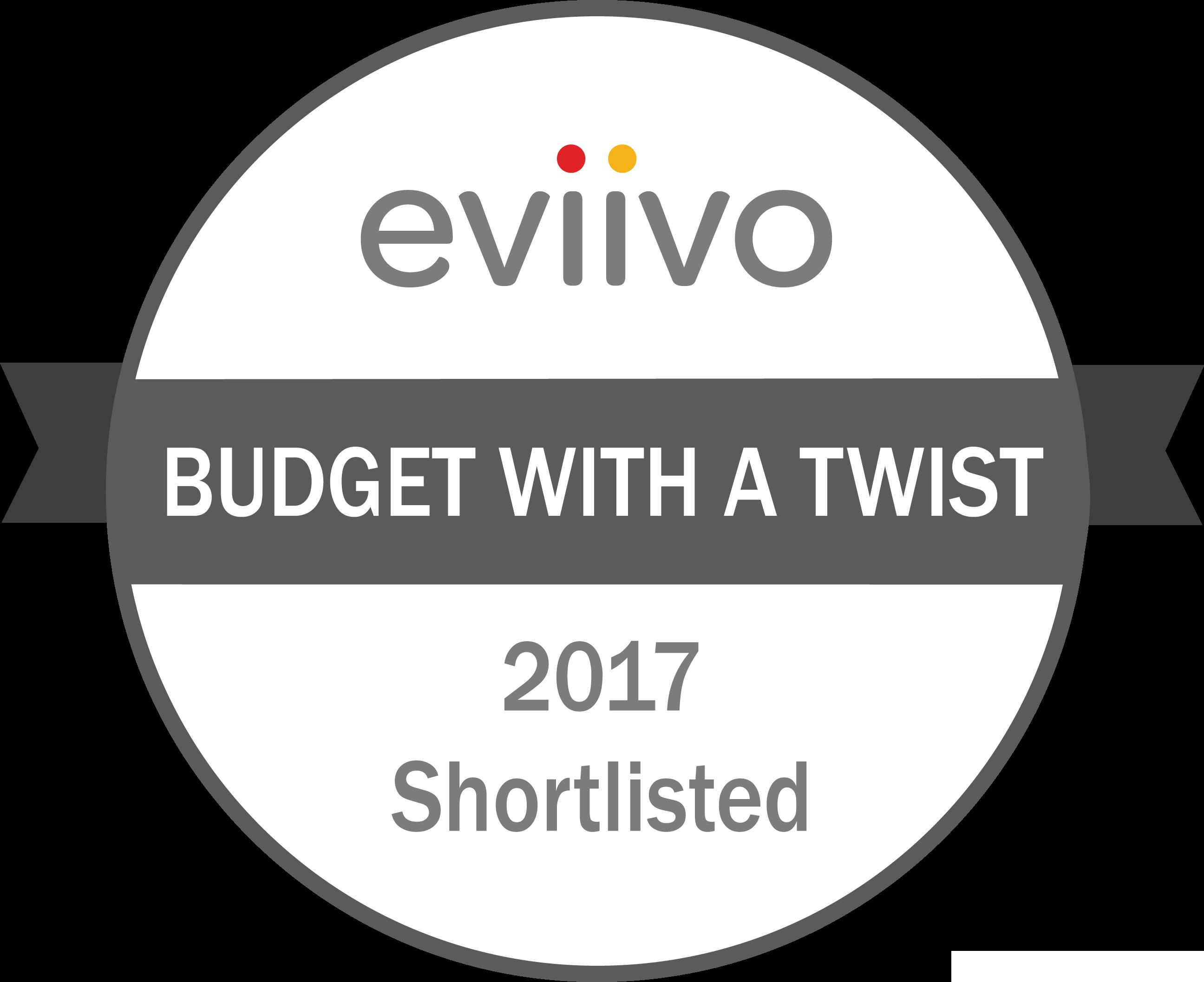 eviivo awards 2017 shortlist