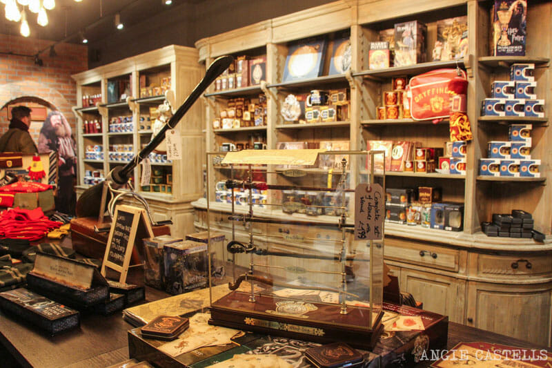 Harry Potter y Edimburgo: la tienda Galaxy