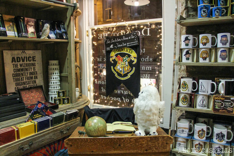 Harry Potter y Edimburgo: la tienda Museum Context