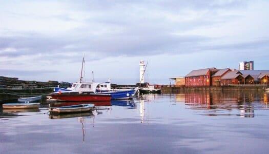 El faro de Newhaven, para ver atardecer en Edimburgo