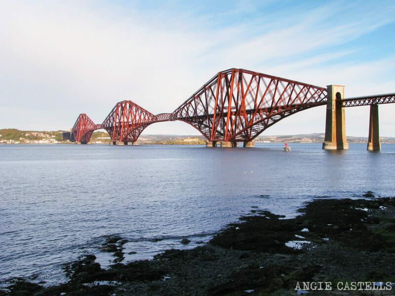 Visitar Inchcolm Island desde Edimburgo - Puente Forth Rail Bridge