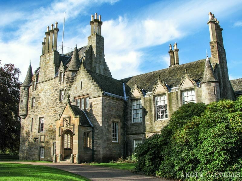El castillo de Lauriston y el jardín japonés de Edimburgo - Lauriston Castle