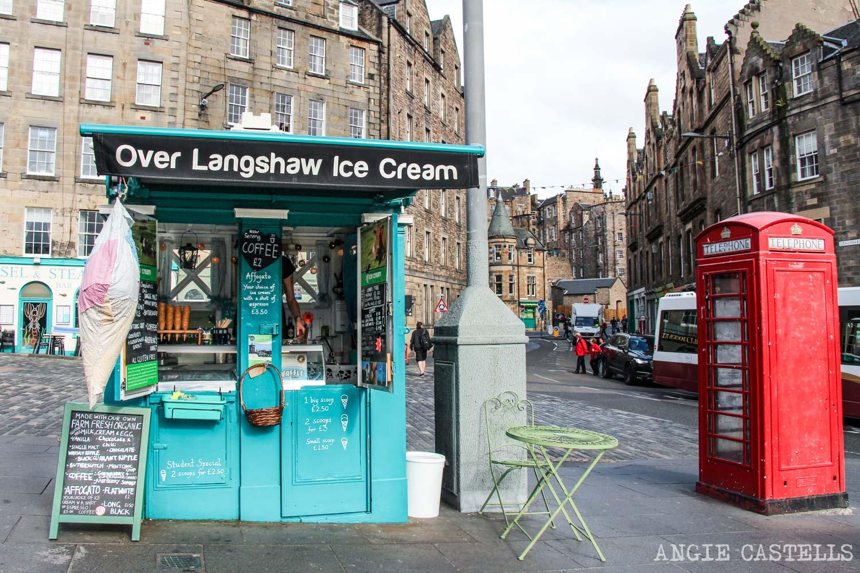 Police Boxes cabina de policia Escocia Edimburgo Tardis
