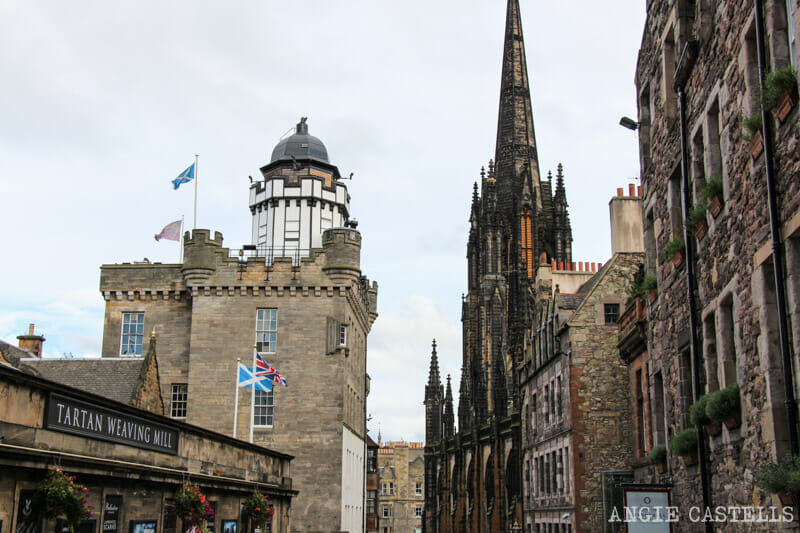 Ruta Old Town Edimburgo Que ver Royal Mile Camera Obscura