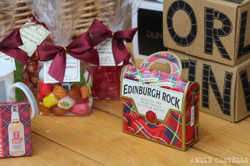Souvenirs Escocia originales Edinburgh Rock