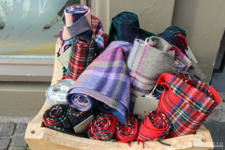 Regalos originales Escocia Tartan