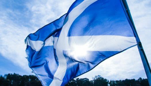St Andrew's Day, el día nacional de Escocia (30 de noviembre)