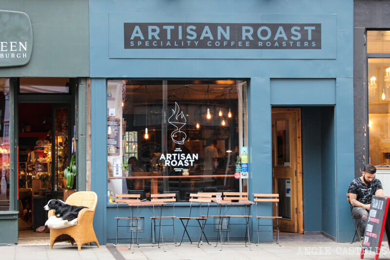 Mejor café de Edimburgo Artisan Roast