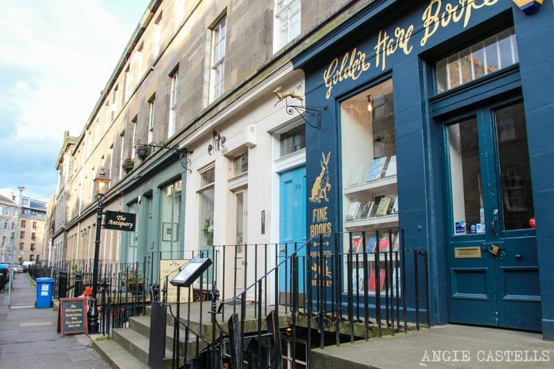 Guia barrio Stockbridge Edimburgo