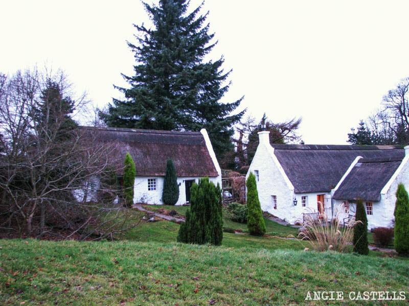 Ruta Pentlands Edimburgo Swanston Village