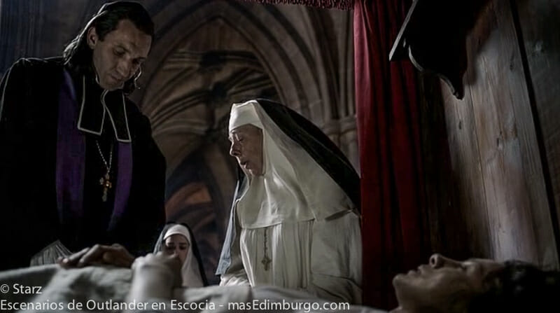 Donde se rodo Outlander Escocia Catedral Glasgow Hopital des Anges