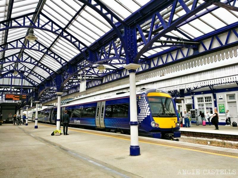 Viajar por Escocia en transporte público - Tren Stirling