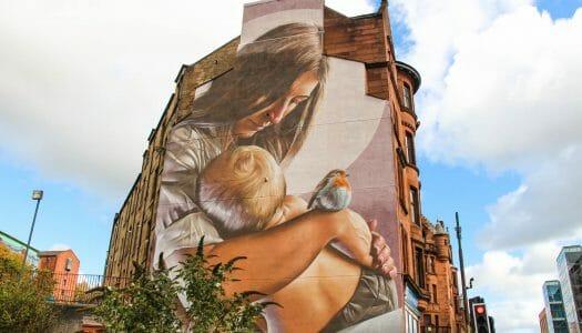 Ruta por el mejor arte urbano y murales de Glasgow