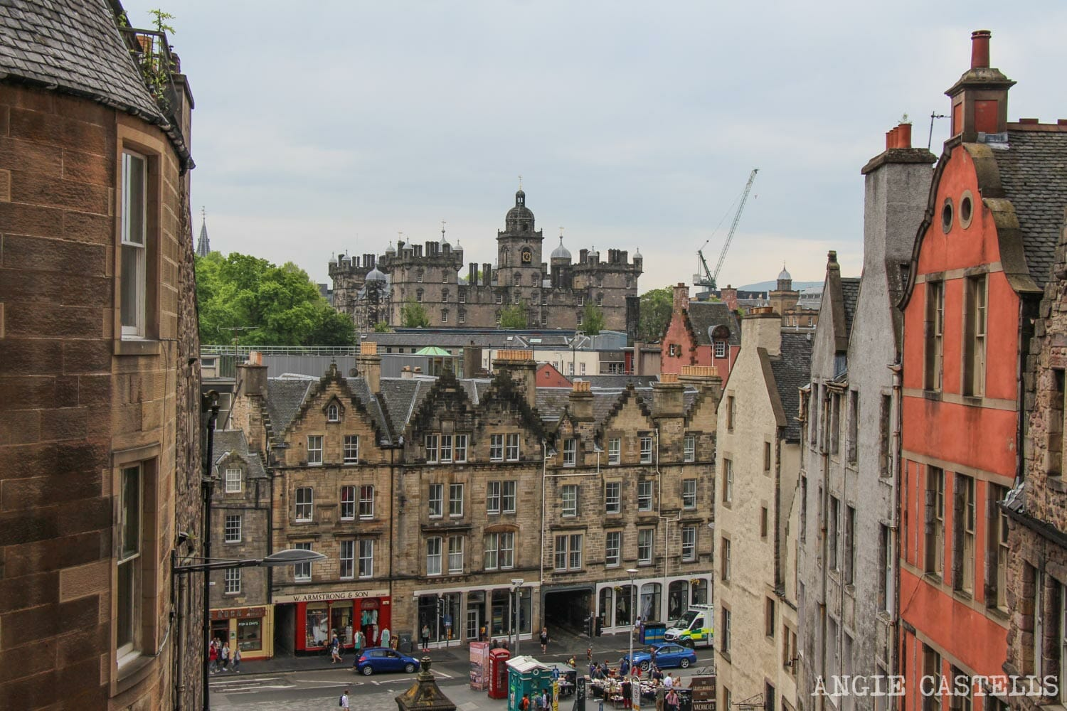 Escuela George Heriot Edimburgo Harry Potter Hogwarts