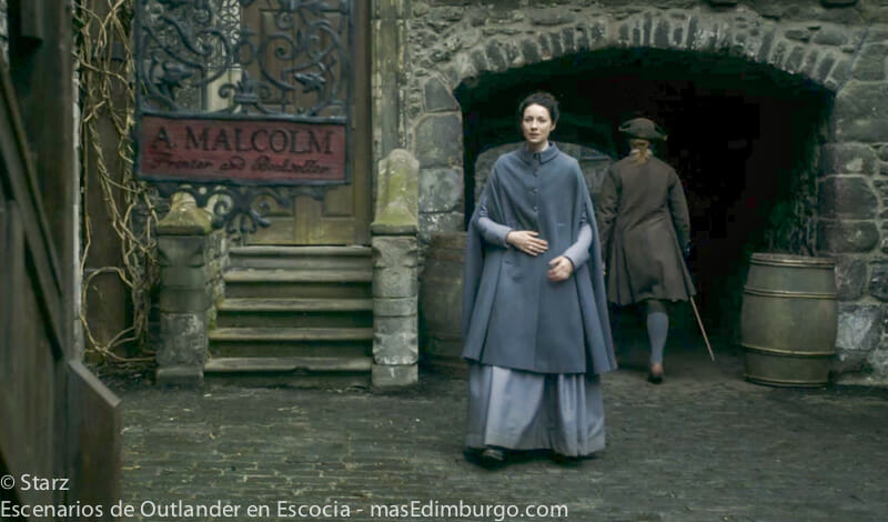 Lugares donde se rodó Outlander en Edimburgo - El callejón Bakehouse Close