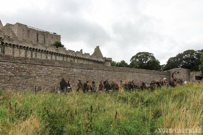 Ruta por los escenarios de Outlander en Edimburgo castillo Craigmillar