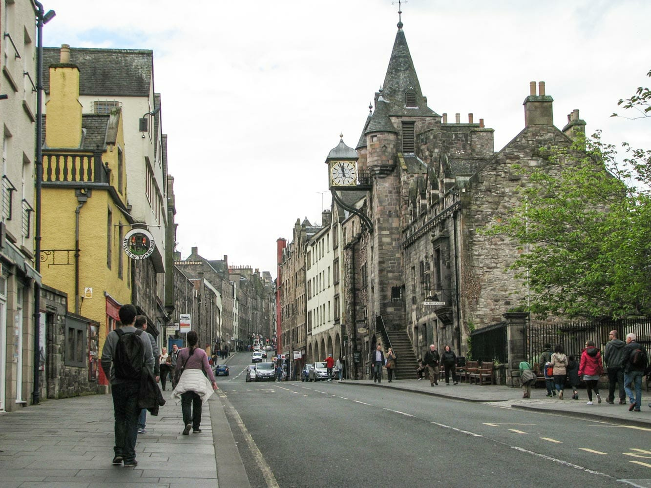 Ruta por los escenarios de Outlander en Edimburgo Royal Mile