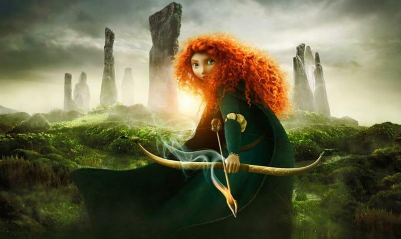 Escenarios de cine en Escocia: las piedras de Callanish en Brave, de Pixar