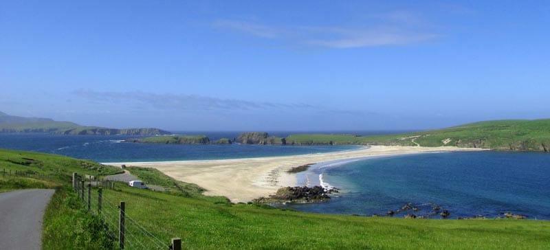 Preparativos para viajar a las islas Orkney y Shetland - St Ninian's Island