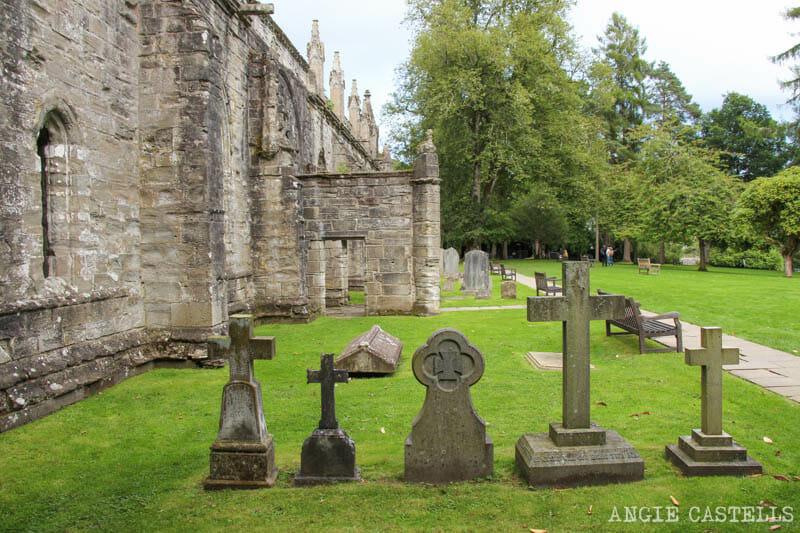Visitar Dunkeld, su catedral y sus bosques, en Escocia