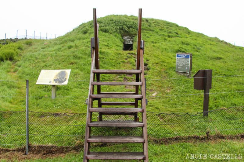 Que ver Orkney Islas Orcadas Cuween Hill Cairn Mainland