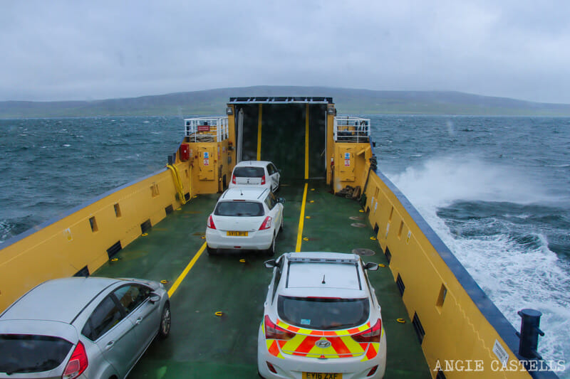 Que ver Orkney Islas Orcadas Ferry Rousay