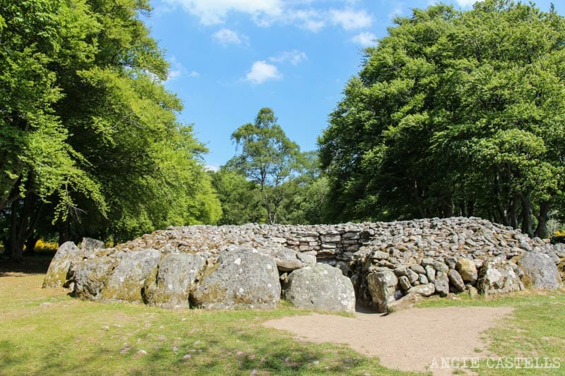 Visitar Clava Cairns Inverness Escocia