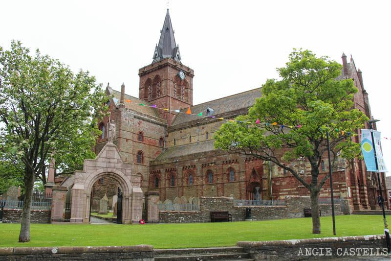 Ruta islas Orcadas Que ver en Orkney Catedral St Magnus Kirkwall