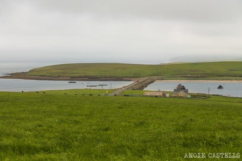 Ruta islas Orcadas Que ver en Orkney Churchill Barriers