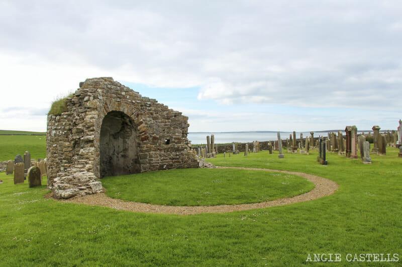 Ruta islas Orcadas Que ver en Orkney Orphir Round Kirk