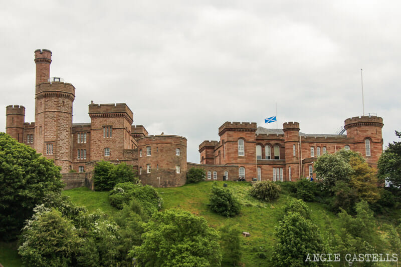 Visitar Inverness Que ver castillo de Inverness
