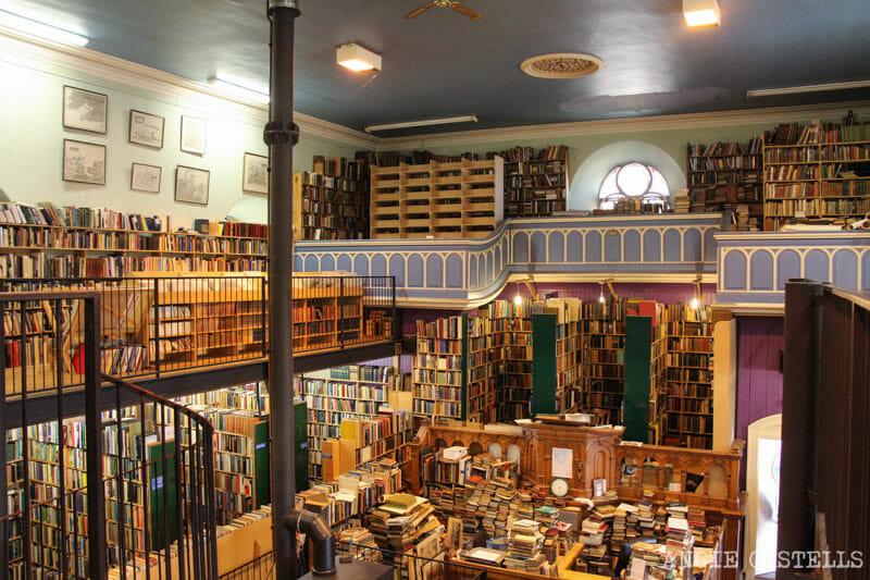 Visitar Inverness Que ver Leakys Bookstore mejor libreria Escocia