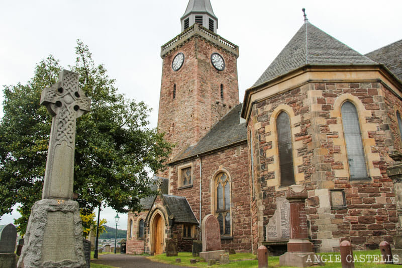 Visitar Inverness Que ver Old High Church