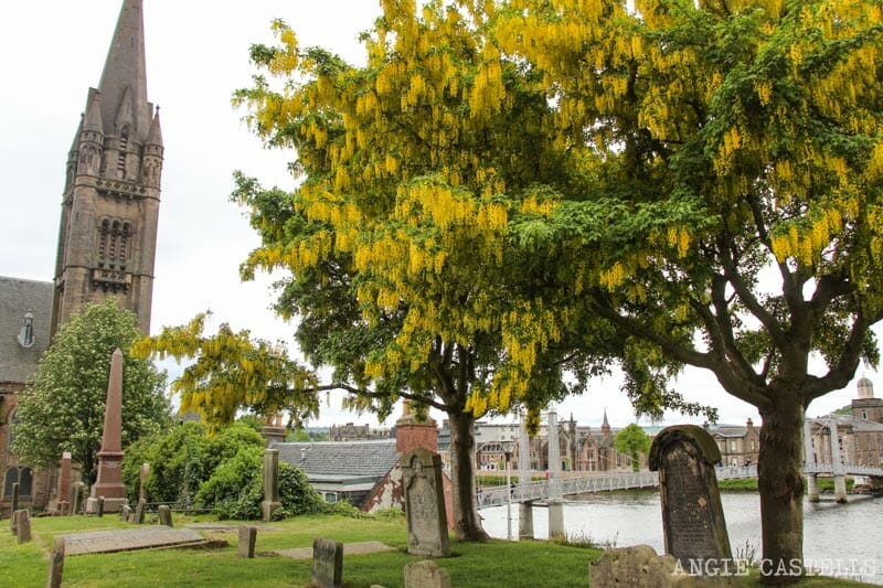Visitar Inverness Que ver Old High Church Jacobitas